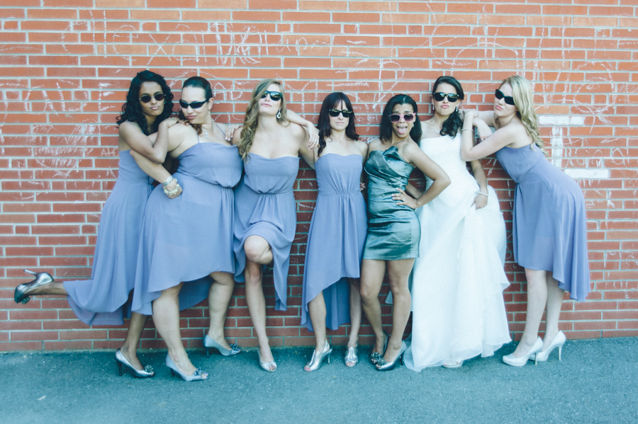 Jason and Melissa Jay McIntyre Photography Toronto Wedding Photographer The Bridesmaids