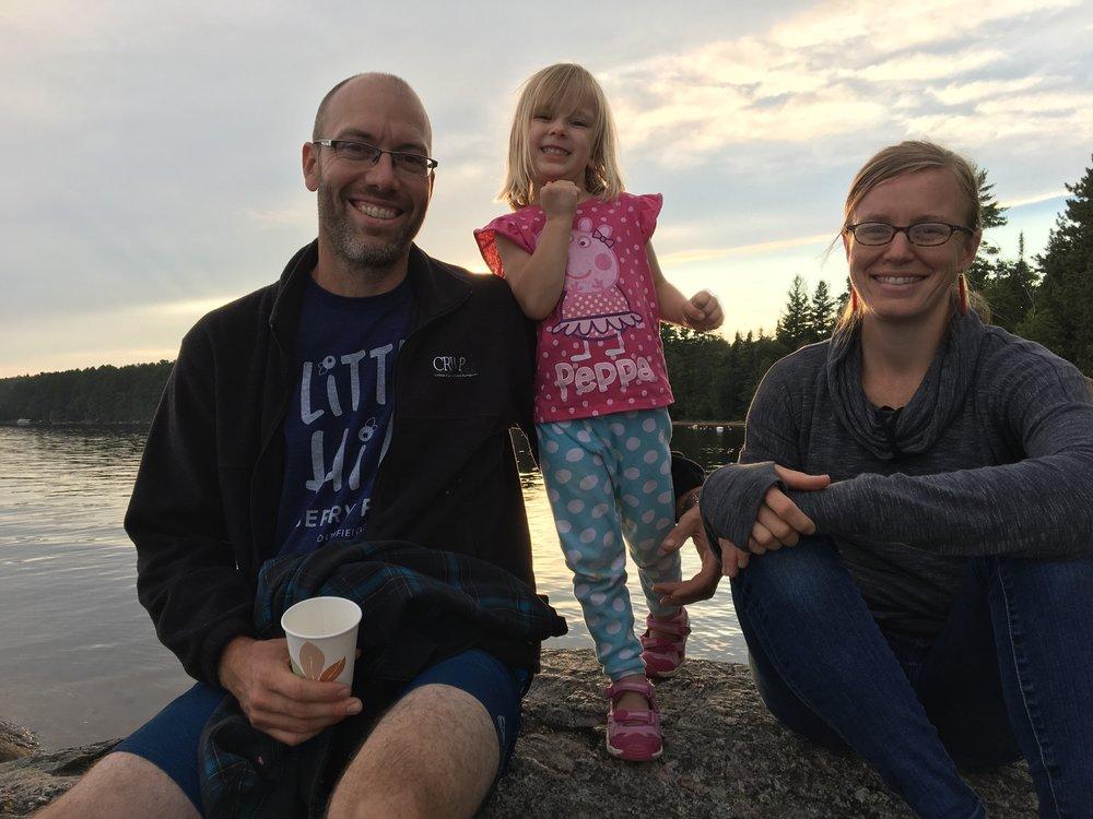 Aaron, LuElla, & Molly
