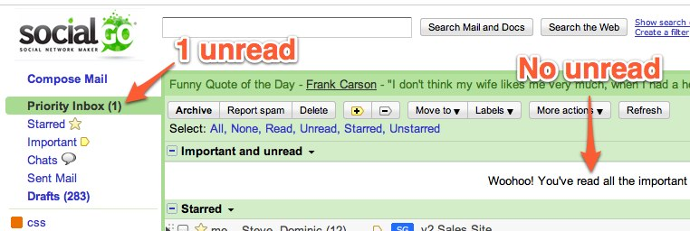 An annoying GMail bug i stare at all day, every day….i hope they fix it! 2 weeks later and it's still there.