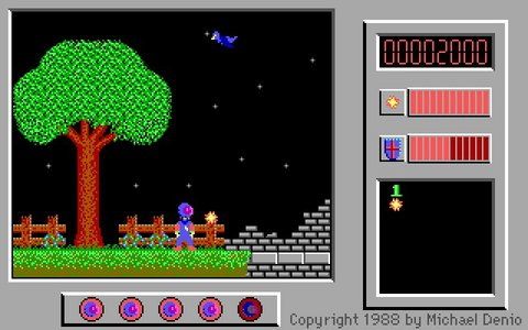 Captain Comic, one of the first computer games i used to play at my dad's office back in the old days. Happy memories!