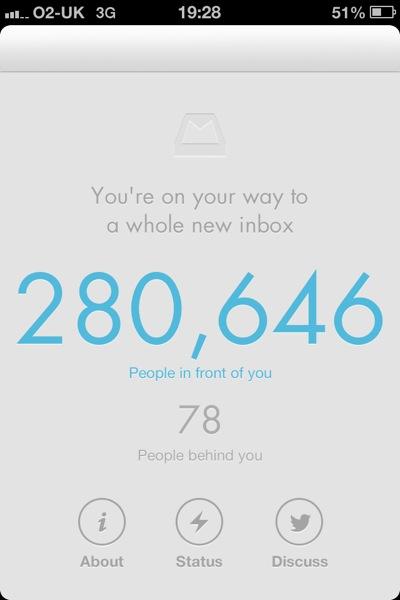 MailBox App last night