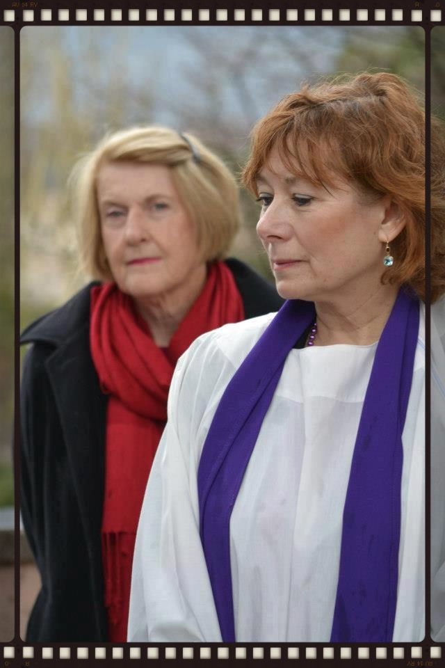 Marilyn Hatton (Catholics for Ministry - Australia) and Janice Sevre-Duszynska (Association of Roman Catholic Womenpriests).