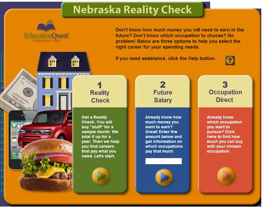 Take the Nebraska Reality Check