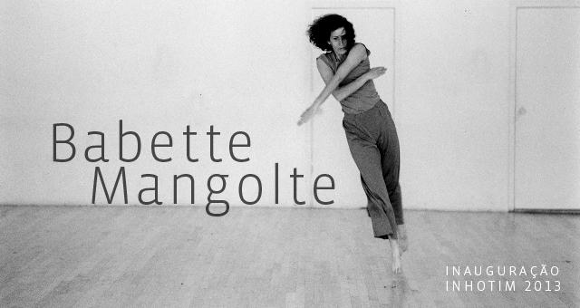 Banner para antigo site. Babette Mangolte.