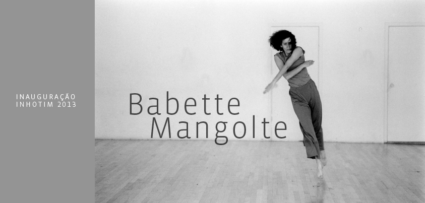 Post para facebook. Babette Mangolte.