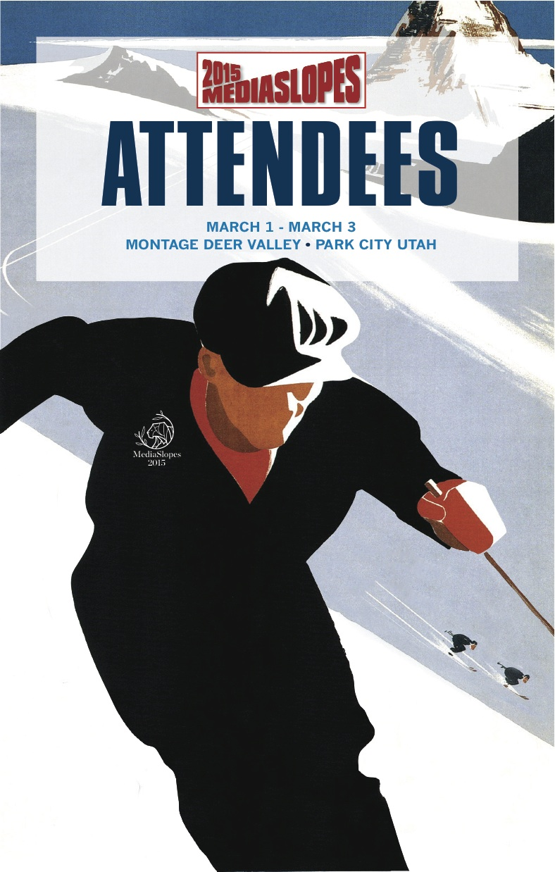 Cover of attendee biography book