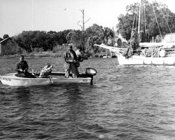 Fishing in the Steinhatchee River