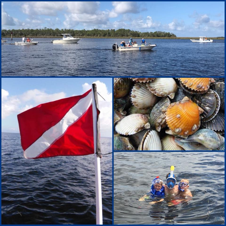 Scalloping is fun for the whole family!