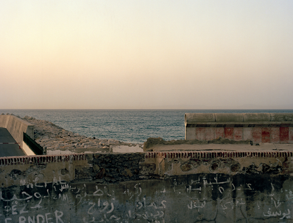Strait of Gibraltar (Looking to Spain), 48x63in, C-Print, 2011