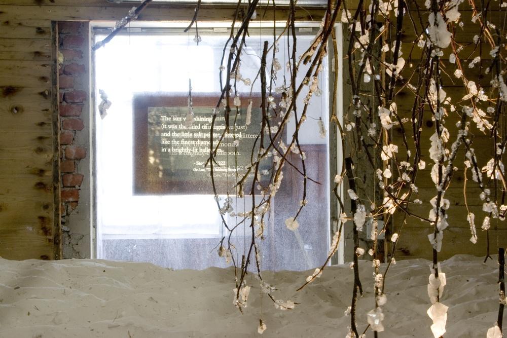 Installation View, Alte Saline, Salzburg, Austria, 2007