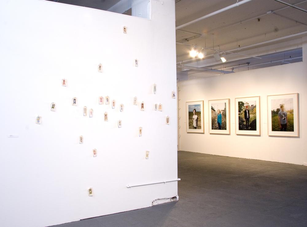 Installation View,Gallery 2, Chicago, 2007