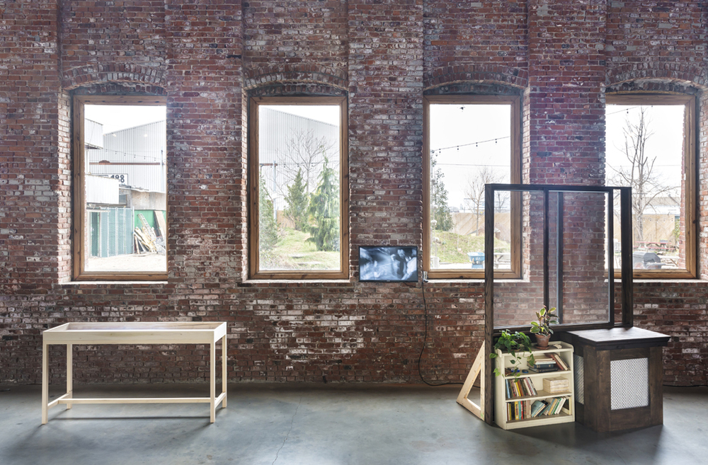 Installation View, Pioneer Works, 2015