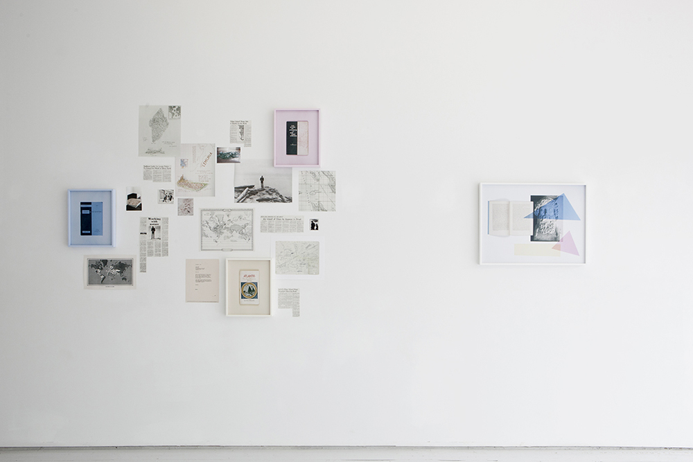 Installation View, ESP | Erin Stump Projects, Toronto, 2016