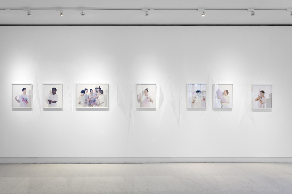 Installation View, ESP | Erin Stump Projects, Toronto, 2016
