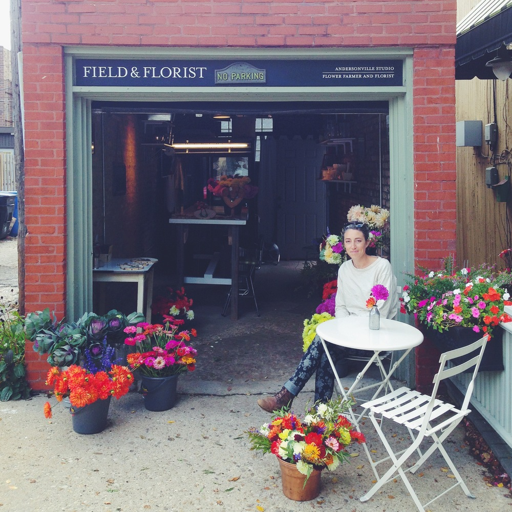 Hosted three open studio Sundays in our Andersonville space and enjoyed arranging bouquets for our neighbors.