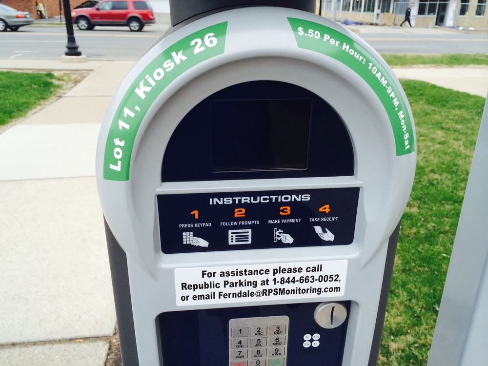 Downtown Pay Station