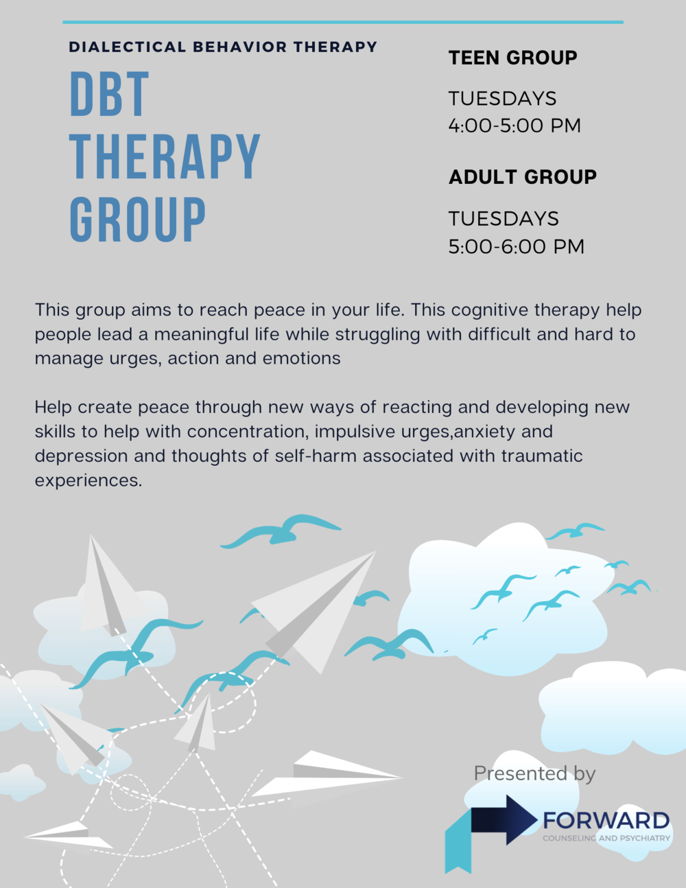 Dialectical Behavior Therapy (DBT) Skills Group