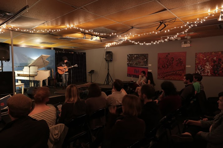 Deer Emerson performs at Songwriter Showcase