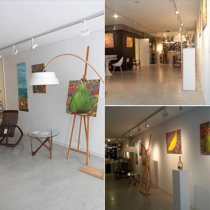 Foxi Von Riga at Jos Joos gallery Brussels