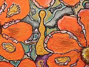 7x7 Orange_painting_detail_by_artist_Foxi_detail3.JPG