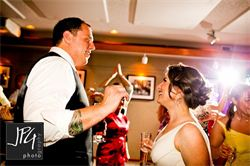 This couple was truly wonderful to work with. Their guests had a blast and danced the night away. Thankfully the hotel shuttle picked up those who had just a little much fun. If there is such a thing as too much fun!