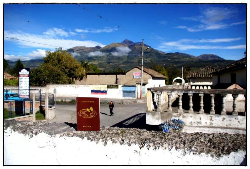 Photograph sent in by Mario Janssens, Santa Ana de Cotacachi, Ecuador.