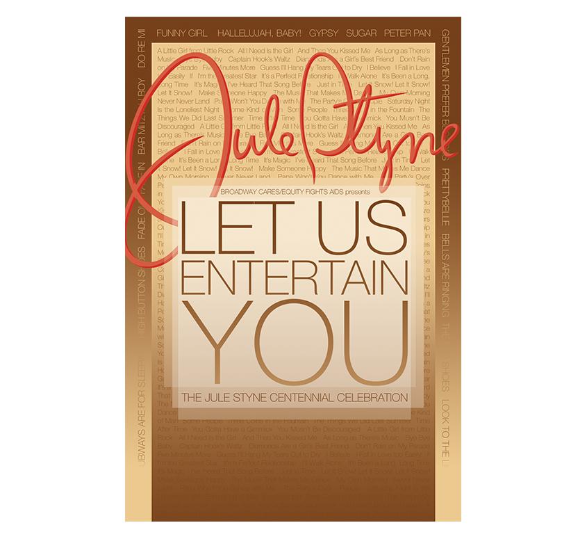Let Us Entertain You Postcard