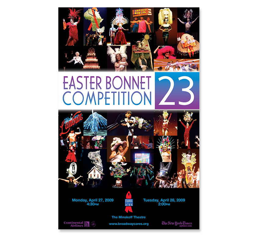 Easter Bonnet Competition 23 Poster