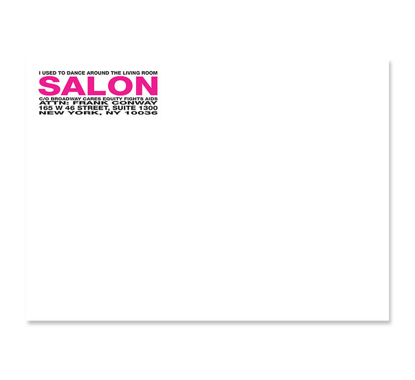 Salon 2009 Invitation - Mailing Envelope