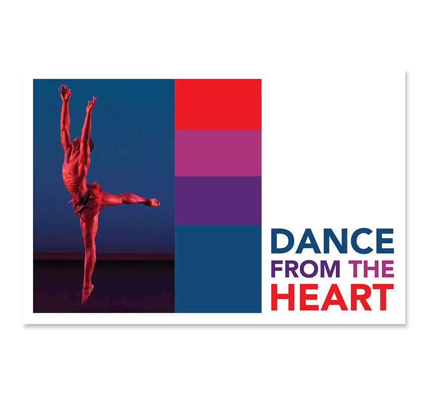 Dance from the Heart 2011 Postcard - Front