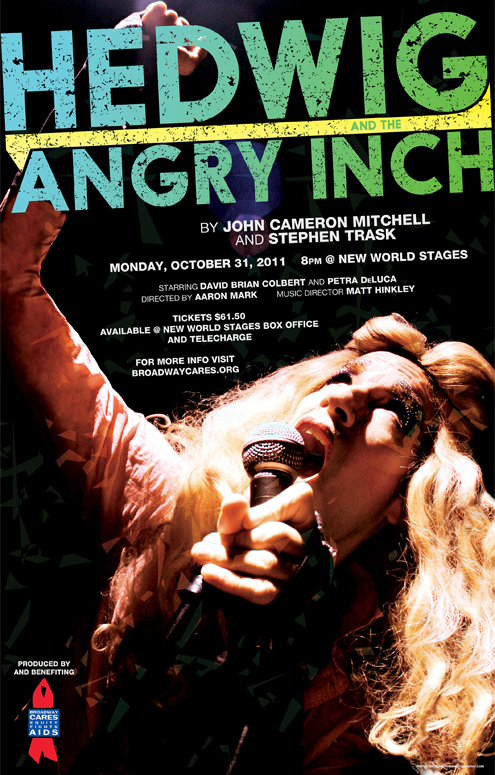 Hedwig and the Angry Inch 2011 Poster