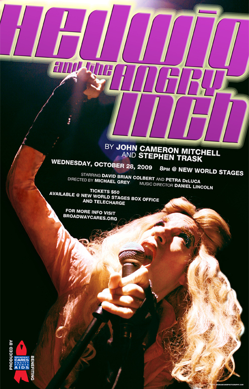 Hedwig and the Angry Inch 2009 Poster