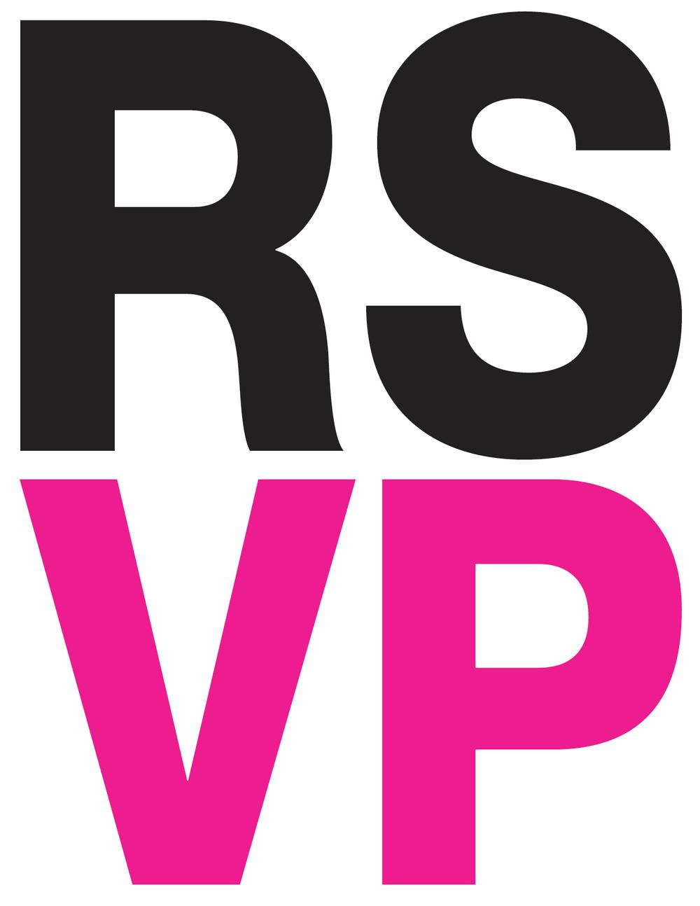Salon 2009 Invitation - RSVP - Front