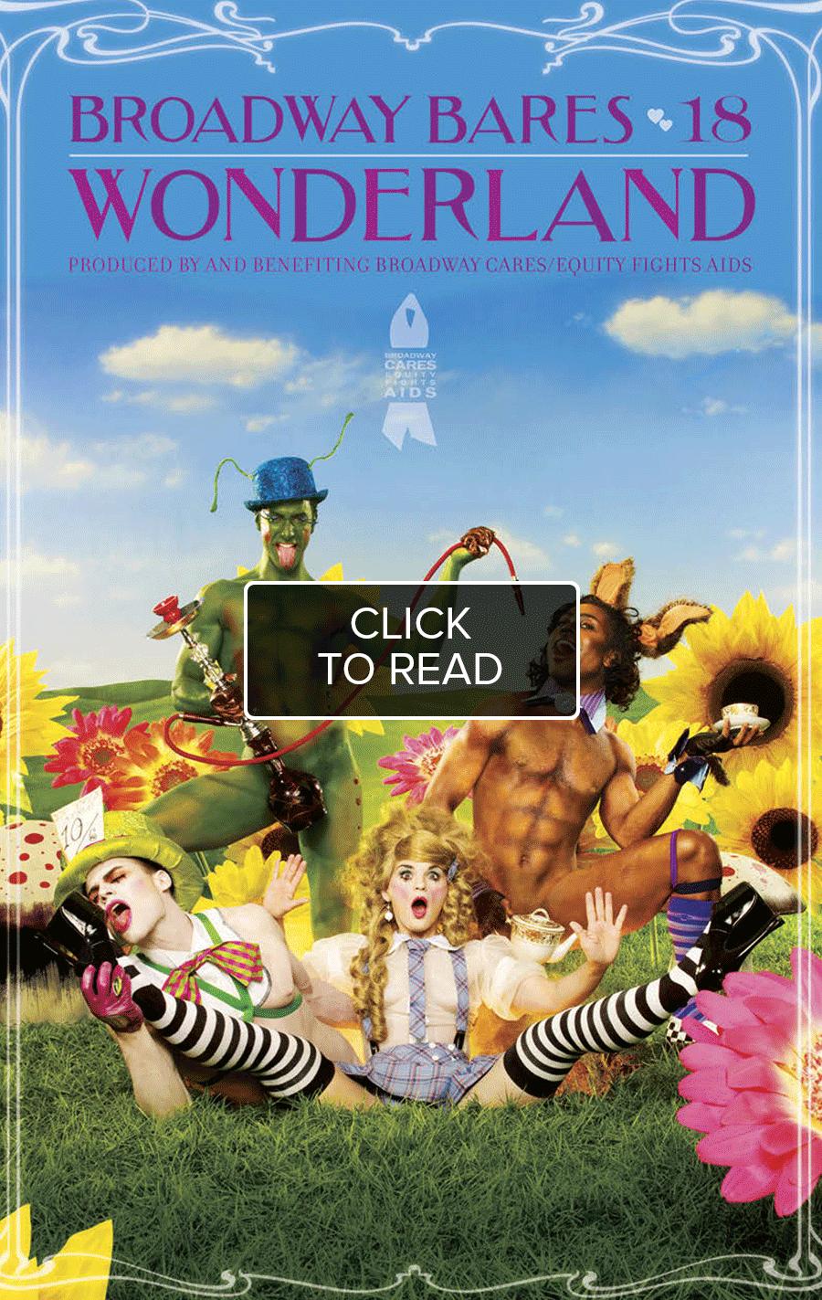 Broadway Bares: Wonderland Program