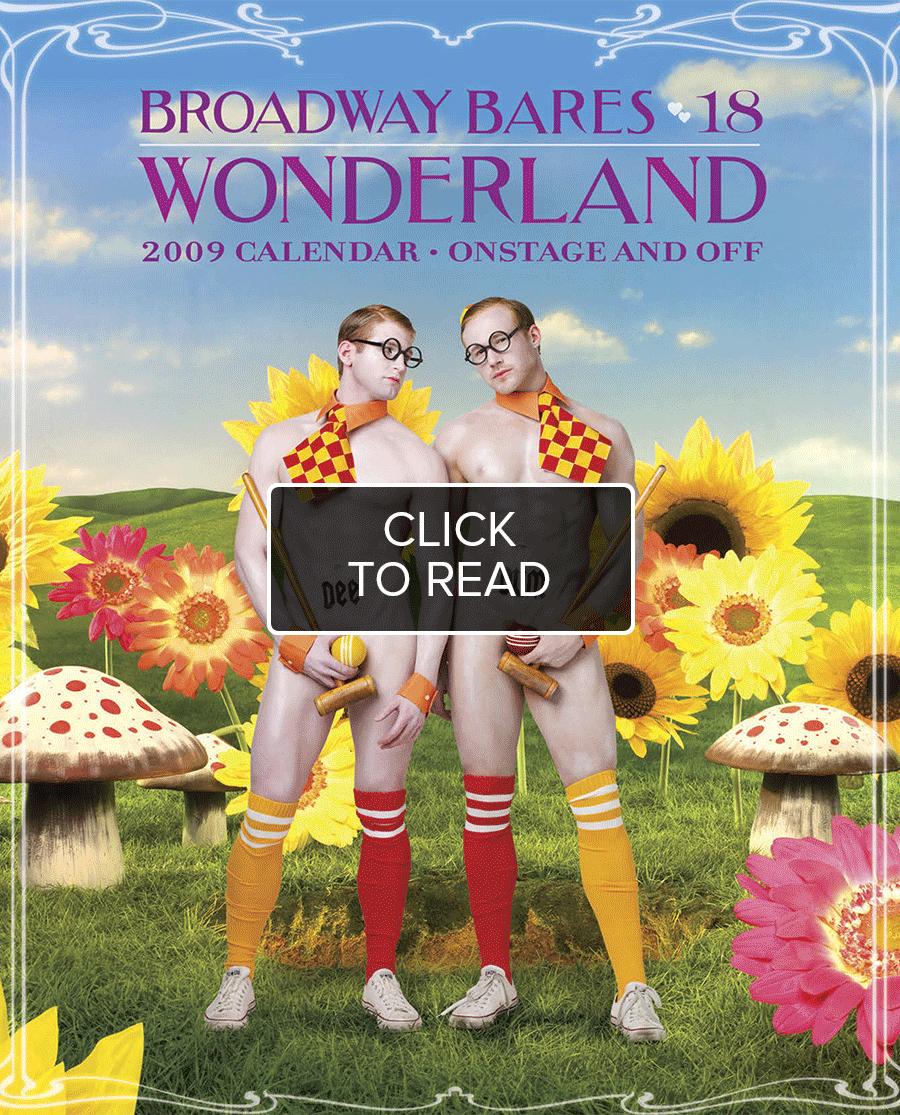 Broadway Bares: Wonderland Calendar