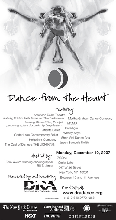 Dance from the Heart 200 New York Times Ad