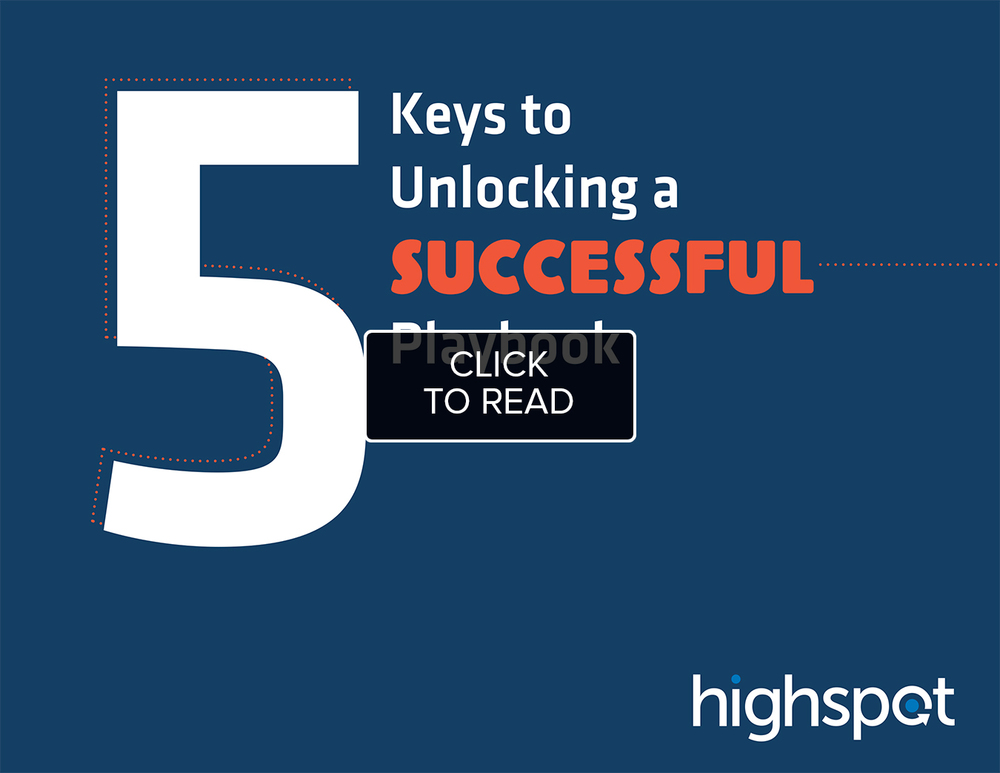 5 Keys to Unlocking a Successful Playbook