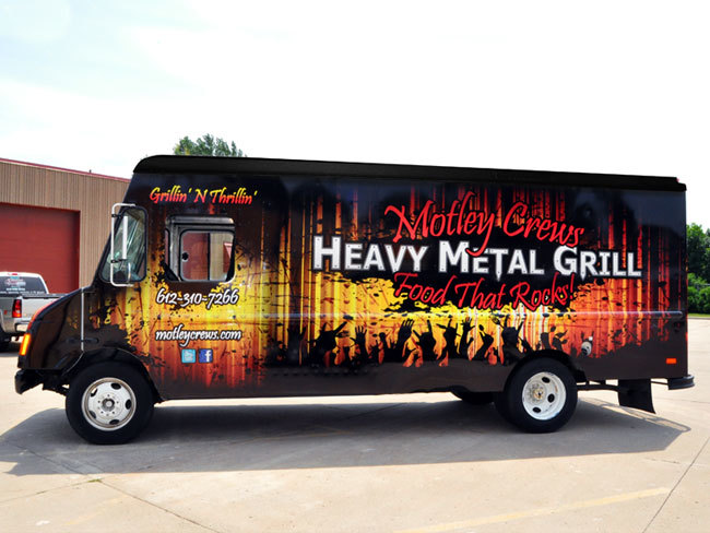 Motley Crews Heavy Metal Grill