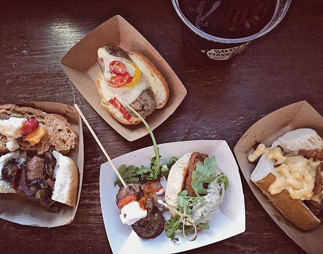 One big shoutout to #SociableNation for making this year's #BestoftheWurst the wurst ever! We're going to be dreaming about this spread for a while... . . 📷: @secretscity