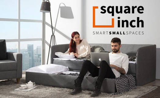 Square Inch | Smart Small Spaces — Bibby and Brady
