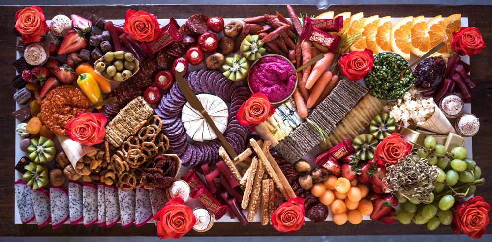 The incredible platter provided by  The Mad Platter  |  photo: Florence Charvin