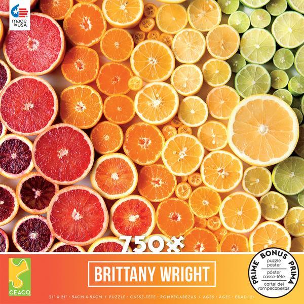 Citrus Gradient Puzzle - 750 Pieces