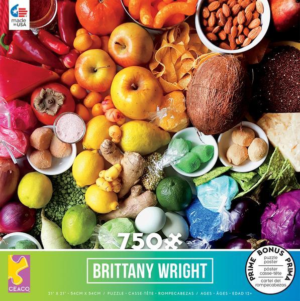 Food Medley Puzzle - 750 Pieces