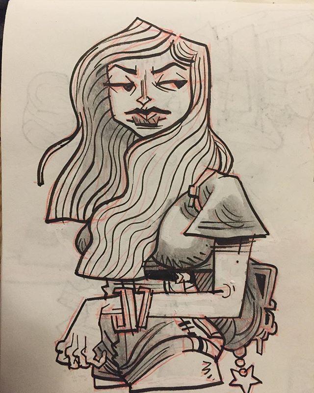 Happy international Women's day! . . .  #art #illustration #drawing #sketch #sketchbook #ink #brush #illustratorsoninstagram #illustratorsofinstagram #dailydrawing #draweveryday #drawwhatsinyourhead #thumbsoneill #zebrapen #drawwhatsinfrontofyou #drawingaday #characterdesign #brushpen