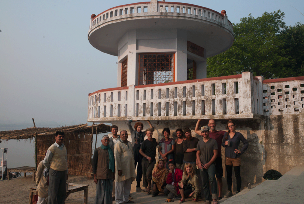 Swimming Cities at an ashram on the Ganges River
