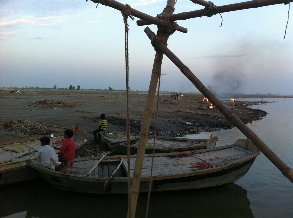 First night on the Ganges River