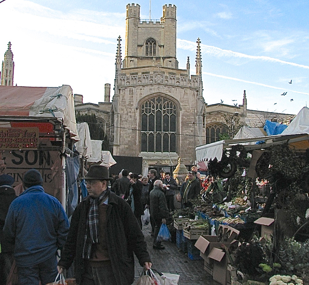 Market Square, Cambridge Town Centre