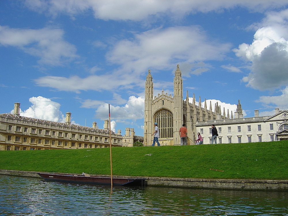 Kings college & punt