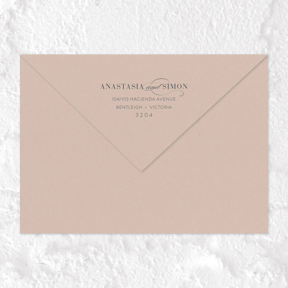 Envelope Return Address