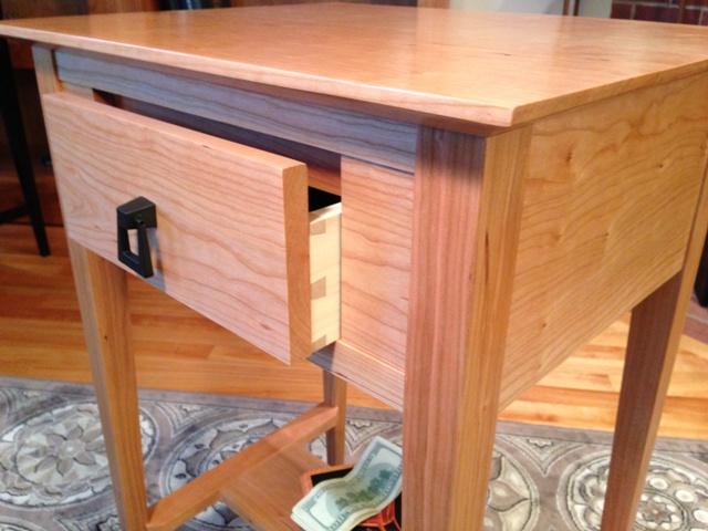 Nightguard End Table Hides Valuables Qline Design